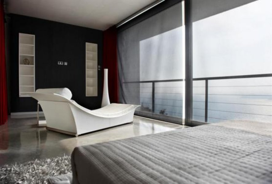 Bedroom with fantastic views